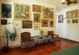Obrazy známých malířů Vysočiny v Penzionu Romantika